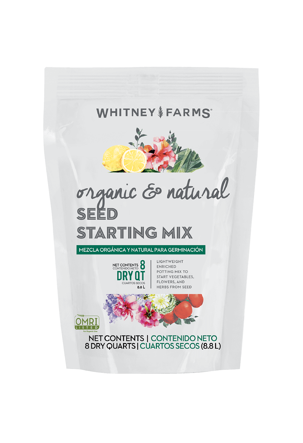 Natural And Organic Seed Starting Mix