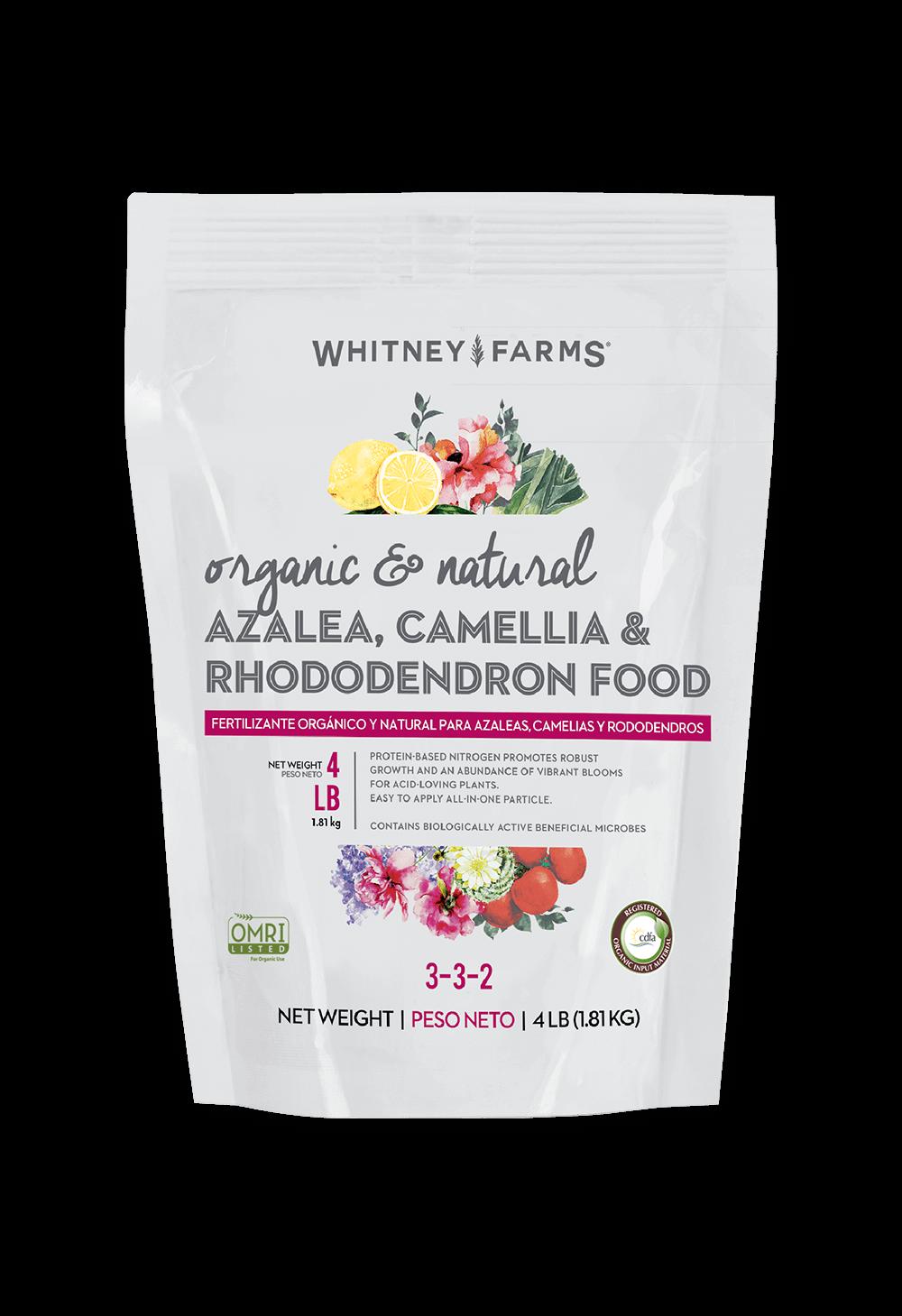 Azalea, Camellia, & Rhododendron Food